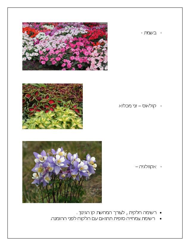 Document page 014 - דוגמא להצעת מחיר עבור עיצוב גינה