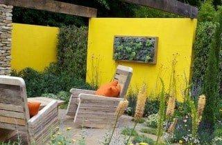 עיצוב גינה1 320x210 - איך מכניסים צבע לגינה?