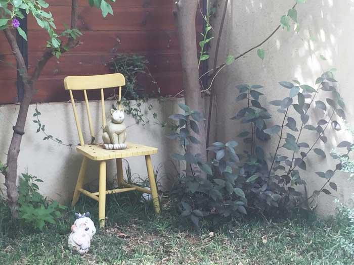 עיצוב גינות - שלושה פריטים לגינה