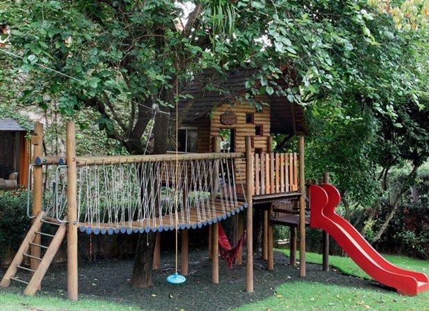 עץ לילדים עיצוב גינות - עיצוב גינת הפתעות לילדים