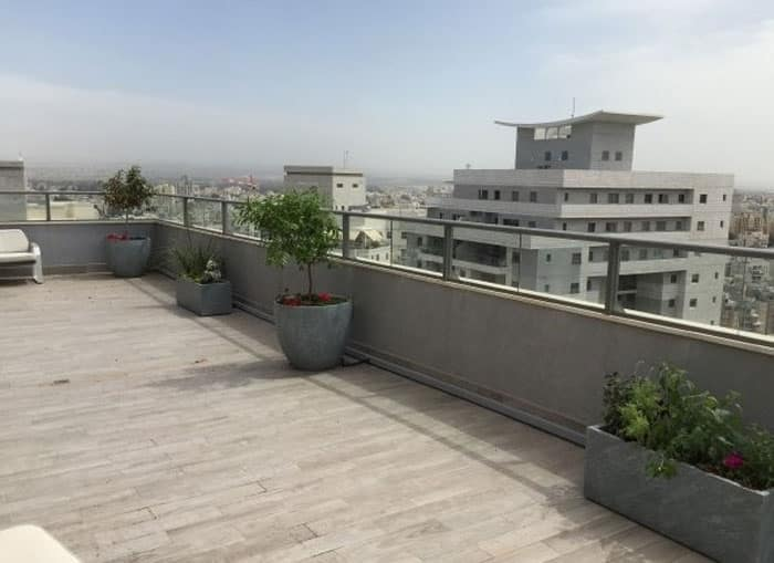 גינות גג 3 - עיצוב ותכנון גינות גג