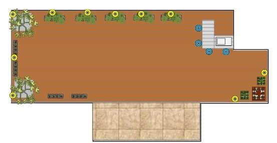 גינה 4 - עיצוב ותכנון גינות גג