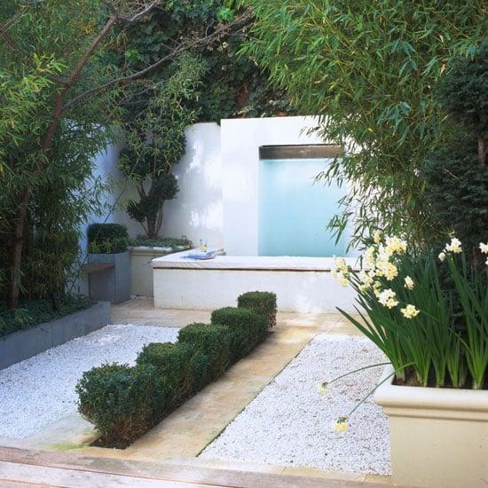 שליו כרמיאל - עיצוב גינה עם מפל מים