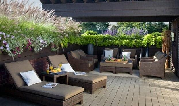 מרפסת 4 - הקמת גינה על גגות ומרפסות