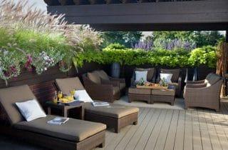 עיצוב גינה במרפסת