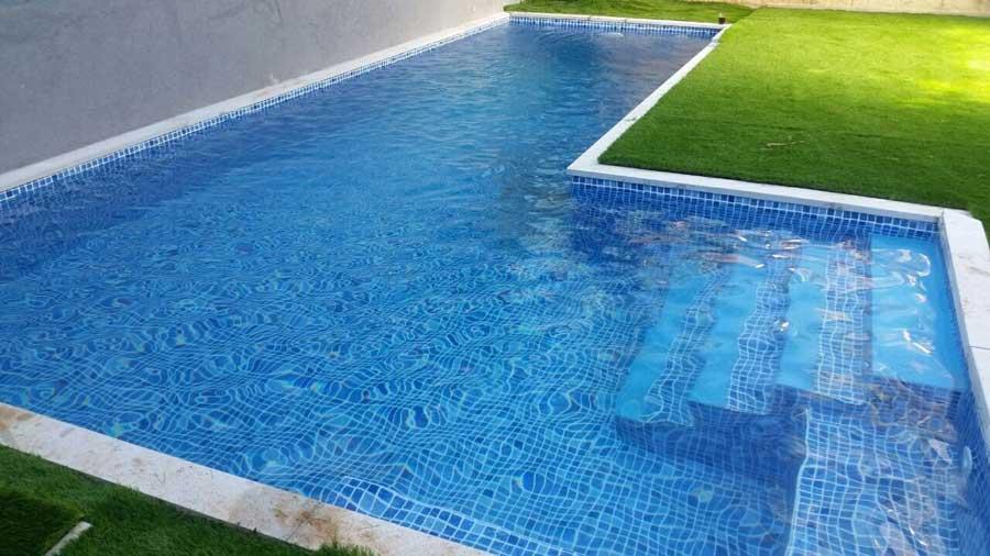 בריכות שחייה מתועשות 2 - בריכת שחיה לגינה