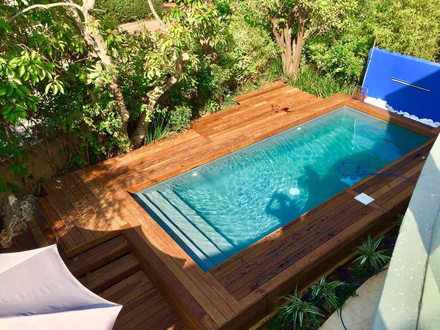 בריכות שחייה1 - בריכת שחיה לגינה
