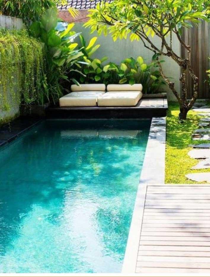 בריכת בטון 2 - בריכת שחיה לגינה