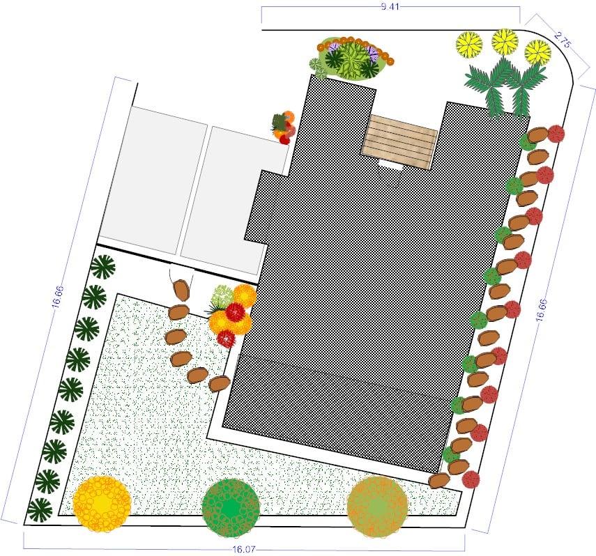 עיצוב גינה ממוחשבת בפרויקט סביוני ברוריה בבנימינה – מאי 2015 3 - הדמיות לעיצוב פרויקט בבנימינה