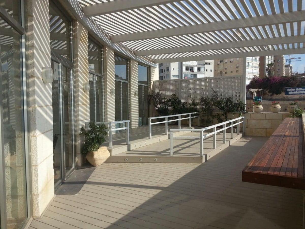 שיפור עורף מלון בנתניה– אפריל 2015 2 - שיפור עורף מלון בנתניה– אפריל 2015