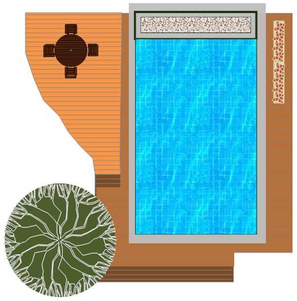 תכנון בריכה בגינה - הקמת בריכת בטון יוקרתית בשרון