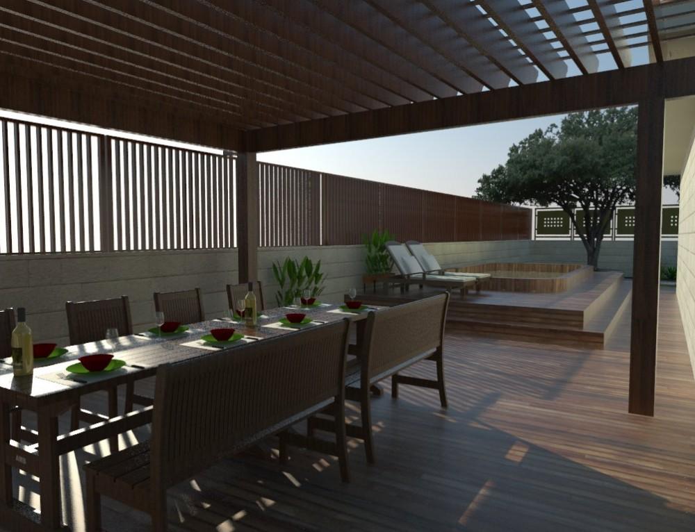 תכנון, עיצוב והקמת גינה על גג