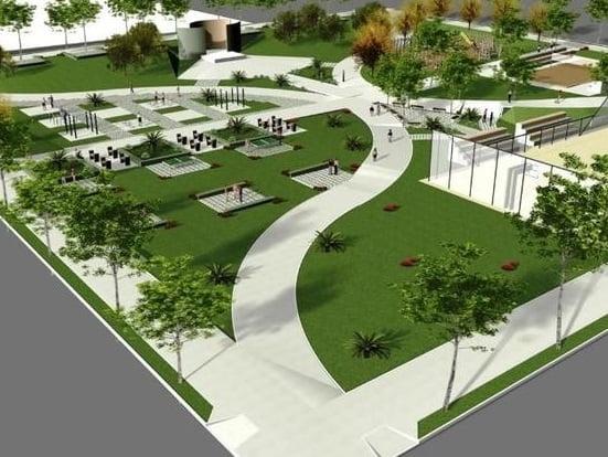 גינות ציבוריות 3 - עיצוב ותכנון גינות ציבוריות