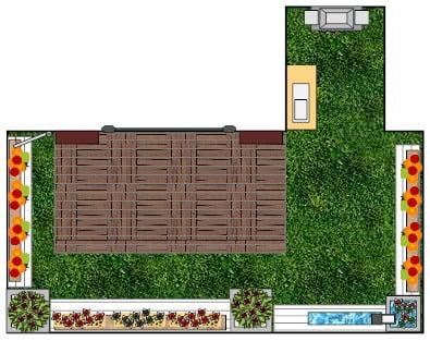 הקמת גינה על גג
