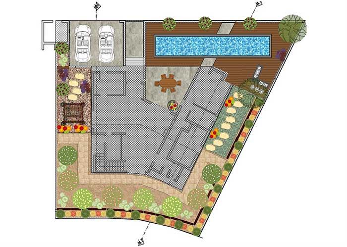תכנון עיצוב גינה