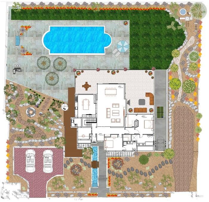 תכנון נוף בנעים - תכנון נוף בפרויקטים מורכבים