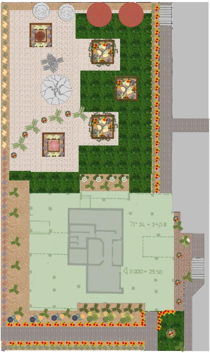 תכנון נוף גקי - תכנון נוף בפרויקטים מורכבים