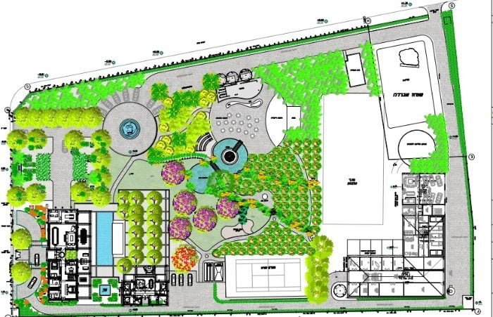תכנון נוף בפרויקטים מורכבים