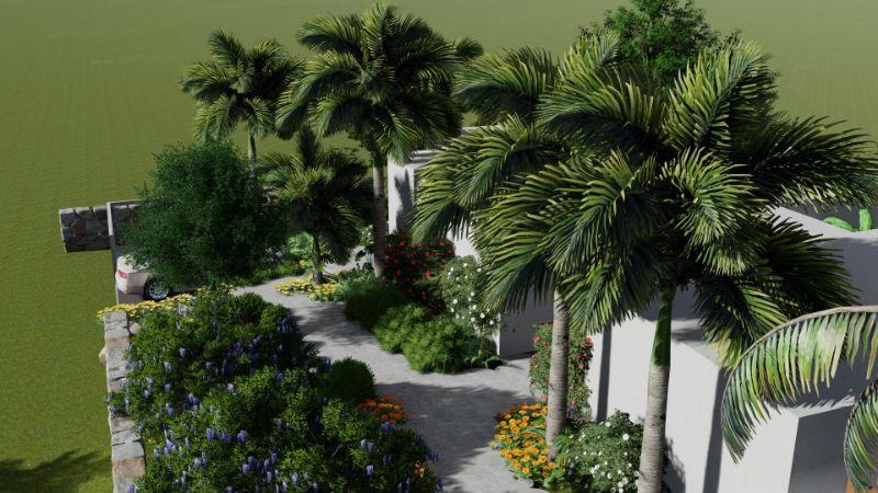 12 - גינה טרופית במורדות הגולן