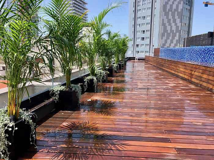 תכנון ועיצוב גינות גג