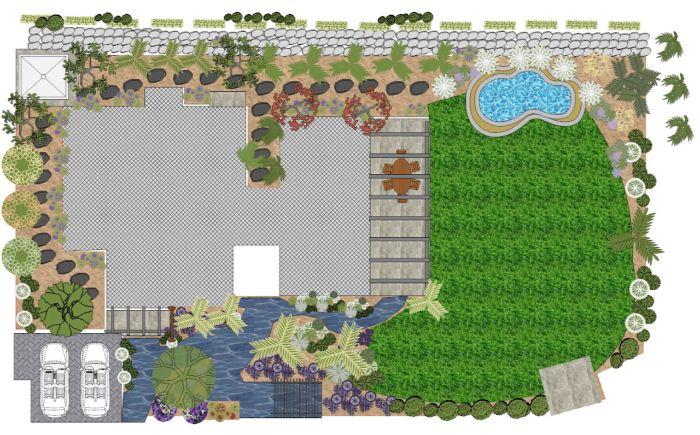 IMG 2742 - עיצוב והקמת גינה טרופית על מורדות  הגולן