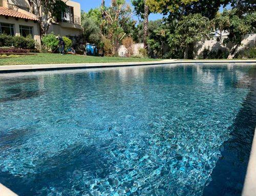 בריכת שחיה בחצר הגינה