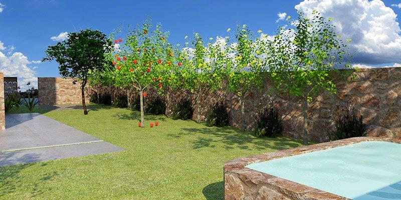 ועיצוב גינה - חשיבות תכנון הגינה בשלב תכנון הבית