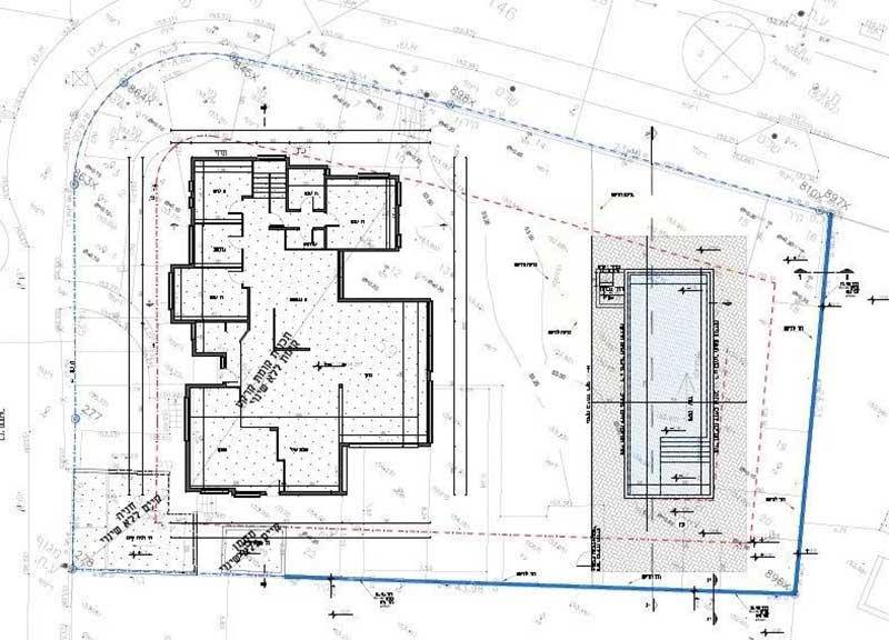 בריכת שחייה מבטון 4 - בניית בריכת שחייה מבטון