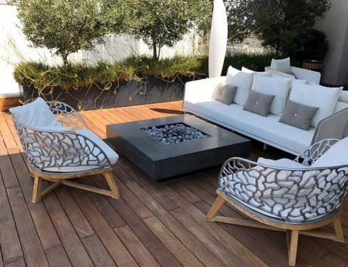 פייר פיט / Fire-Fit- שולחן אש מעוצב לגינה