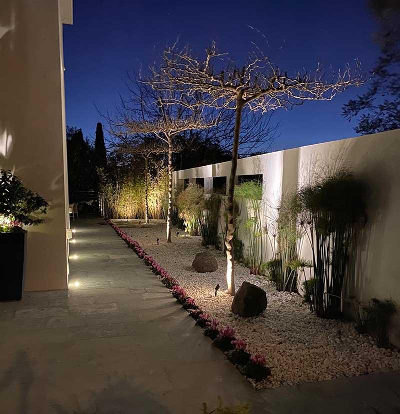 גן 2 - תאורת גן