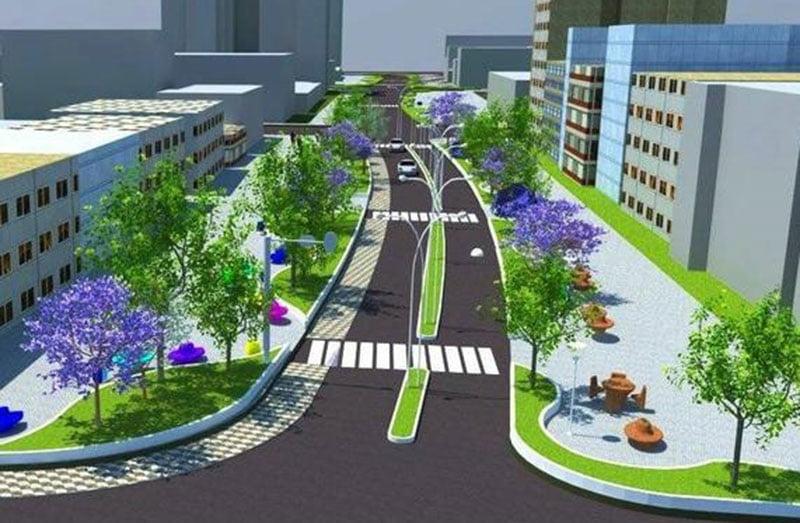 שטח ציבורי 1 - עיצוב וביצוע גינות ציבוריות