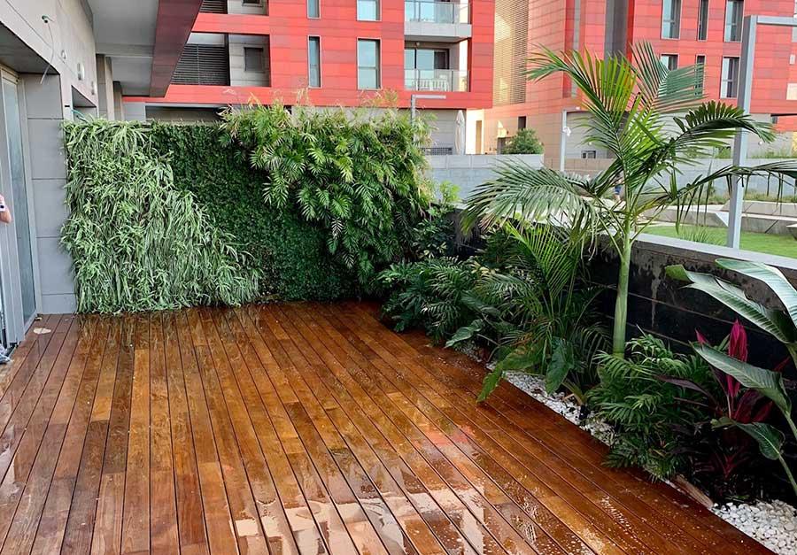 ללא דשא 2 - עיצוב גינה ללא דשא - תחזוקה קלה ומראה עשיר